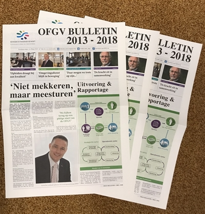 Stapel OFGV bulletins 2013-2018